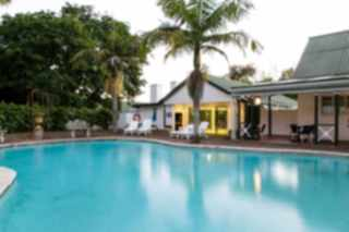 tsitsikamma village inn storms river swimming pool cafe buchus outside