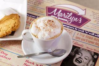 marilyns 60s diner coffee